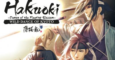 Hakuoki The Movie das Anime auf Deutsch - Cover