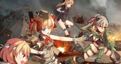 Das Anime-Spiel für iOS und Android Panzer Waltz