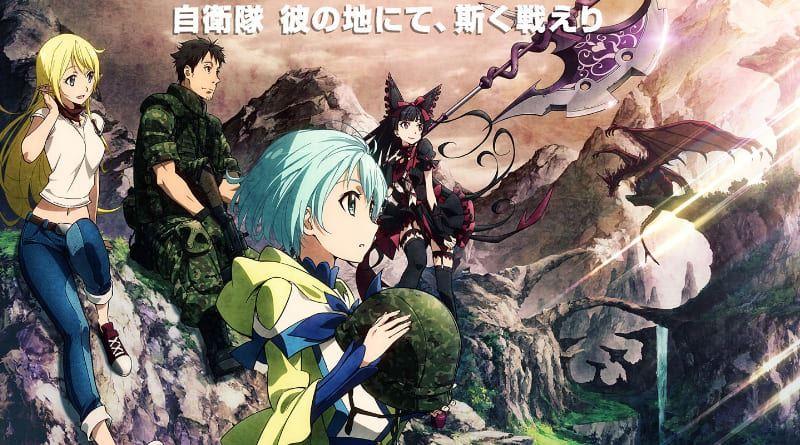 AnimeHouse liefert GATE auf Bluray und DVD
