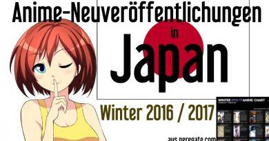 Anime 2017 Release Neuveröffentlichungen für Winter