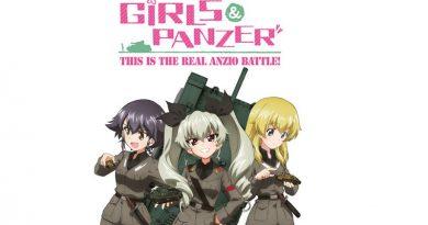 Das Cover zu Girls und Panzer: This is the real Anzio Battle! auf Bluray und DVD