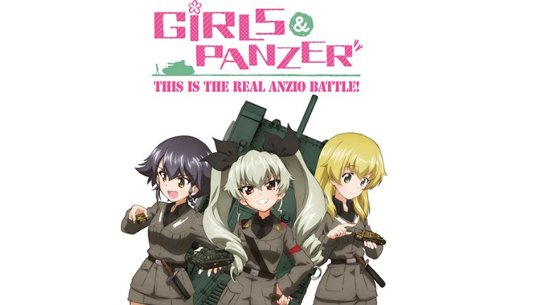 Das Cover zu Girls und Panzer: This is the real Anzio Battle! auf Bluray und DVD