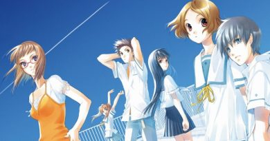 Sagrada Reset Cover für das kommende Anime Sakurada Reset