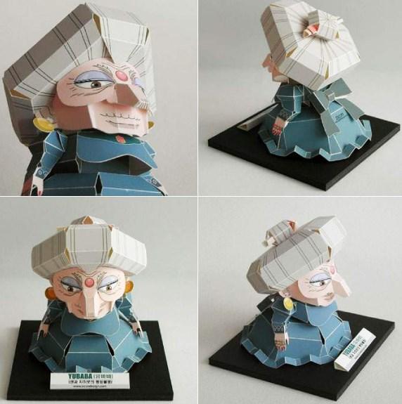 Anime Papercraft aus Chihiros Reise ins Zauberland