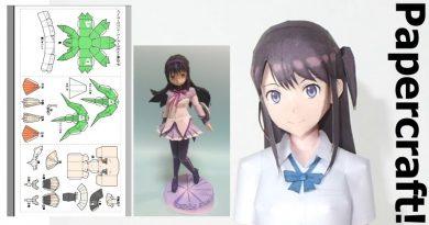 Wir erklären euch Anime Papercraft