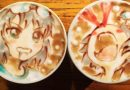 LatteArt Anime-Stil!