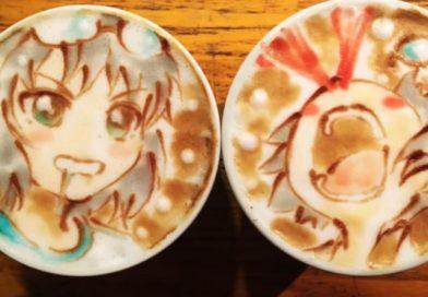 LatteArt Anime-Stil!