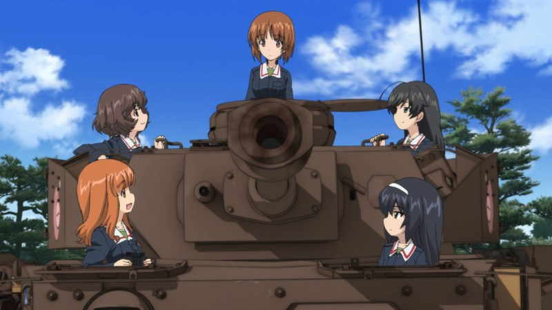 Mihos Team in Girls und Panzer der Film