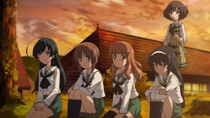Anglerfisch-Team aus Girls und Panzer-der Film