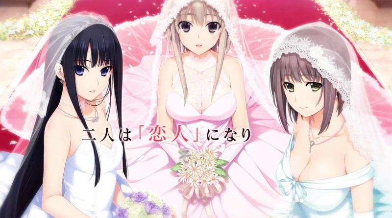 Anime Charakter mit VR Brille heiraten
