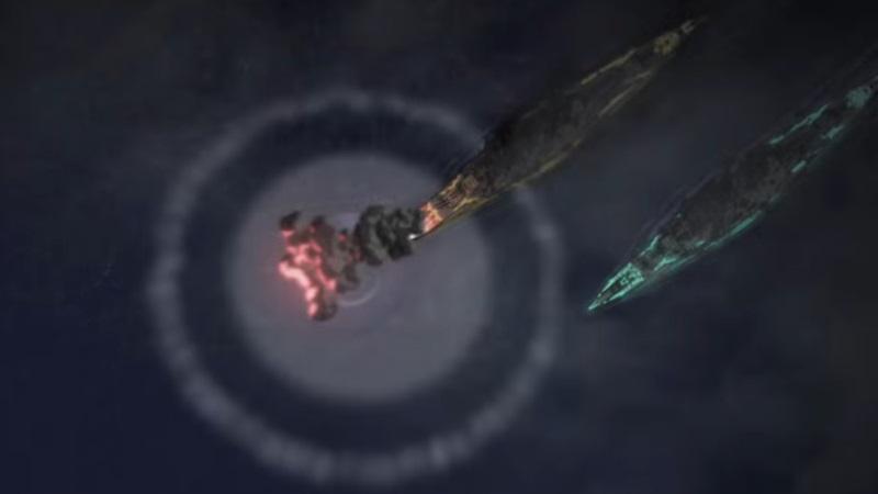 Arpeggio of Blue Steel Ars Nova Nebelschiff