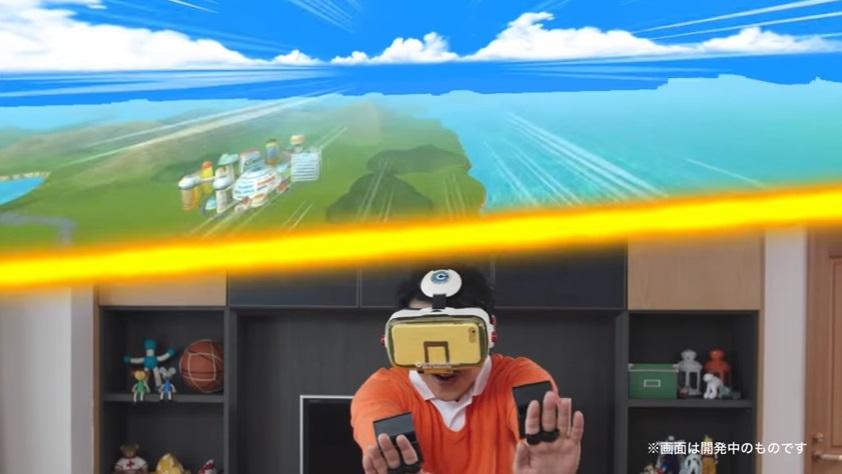 DBZ VR Fliegen