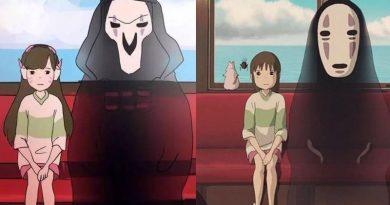 Overwatch Anime Ghibli Studios