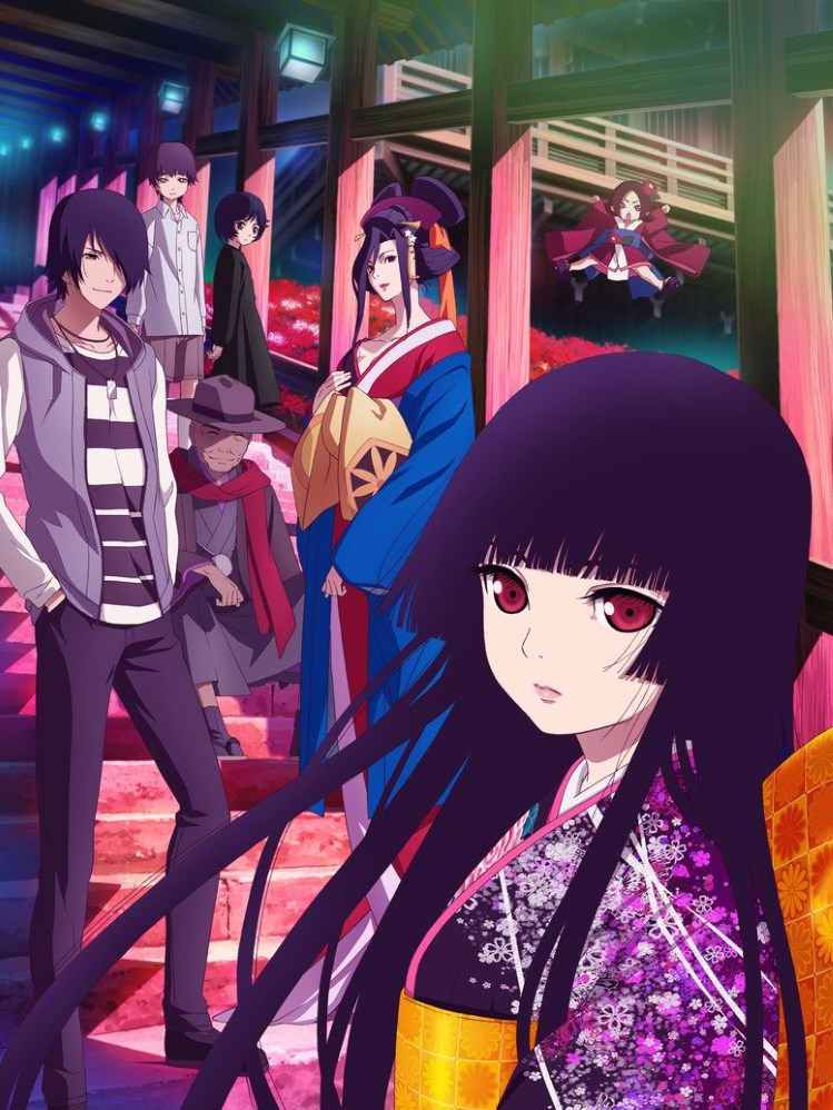 Jigoku Shoujo Staffel 4 angekündigt Visual