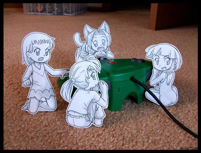 Paper Child am Controller