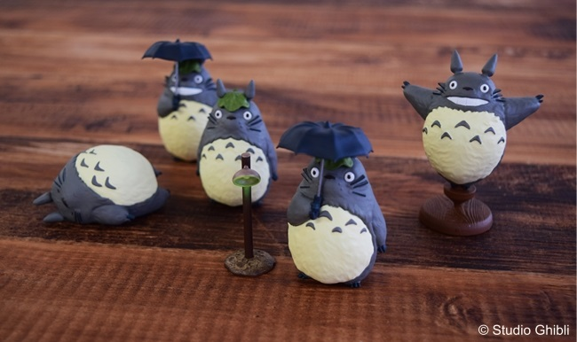 Totoro Figur Sammlung
