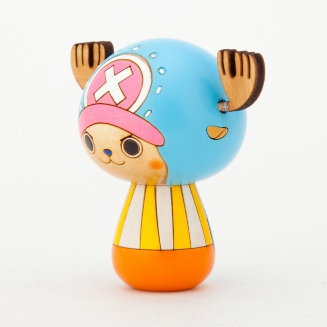 One Piece Kokeshi Chopper Seitlich