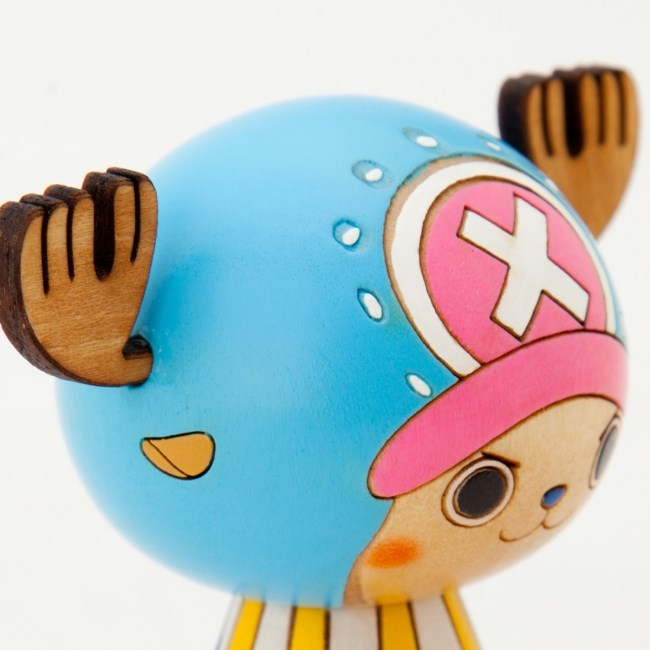 One Piece Kokeshi Chopper Detail
