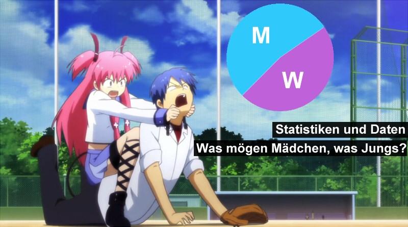 Was mögen Mädchen für Animes, und was Jungs?