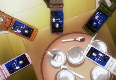 Klapp-Handys in Animes – wo bleiben die Smartphones?