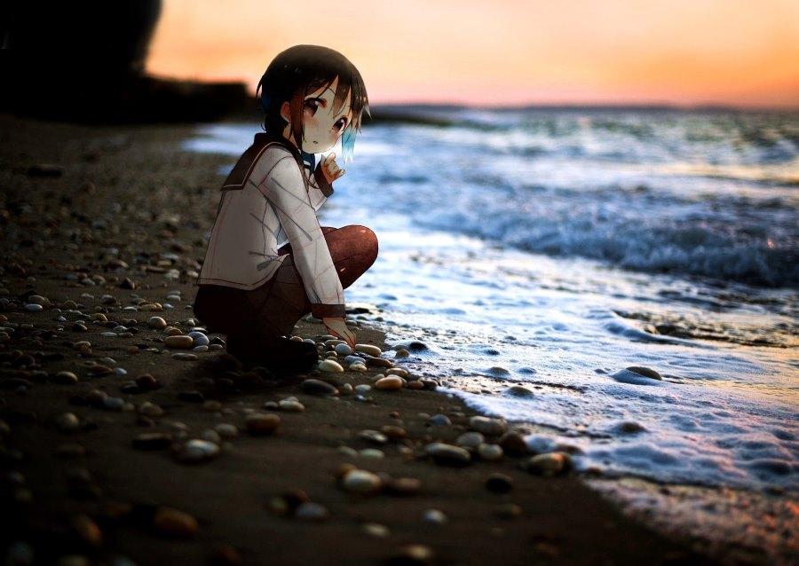 Anime Charaktere im Reallife: Strand / Beach