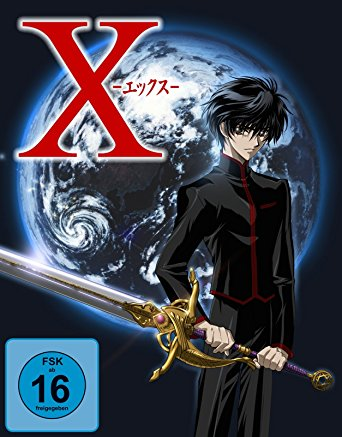 X die Serie Anime Gesamt Komplett