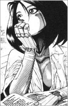 Alita Manga Vorlage Original
