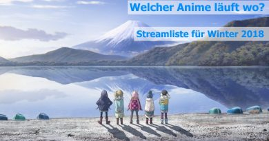 Anime Stream Liste Winter 2018
