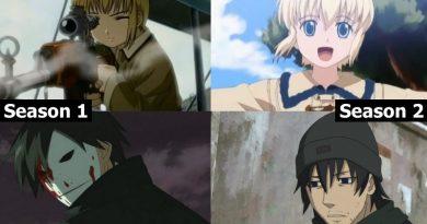 Anime mit großen Unterschiede Staffel 1 und Staffel 2