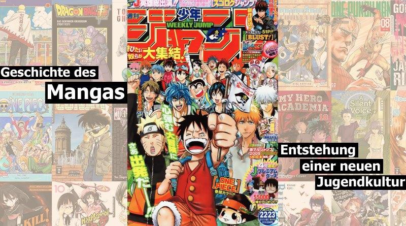 Geschichte der Mangas - Woher kommen Mangas her?