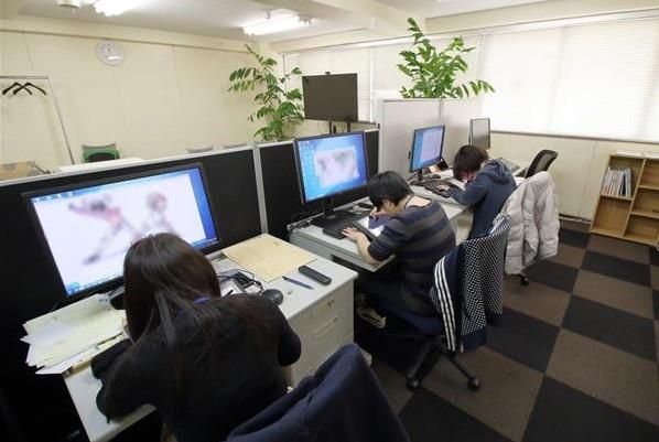 Anime Industrie Krise Umsatz Ausland