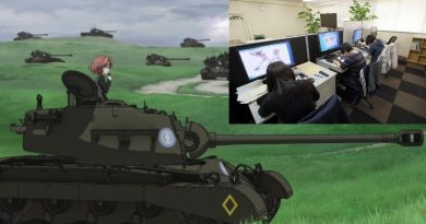 Girls und Panzer Anime Industrie Probleme