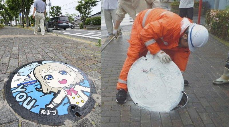 Love Live Sunshine Beschädigung Farbe Anime Vandalismus