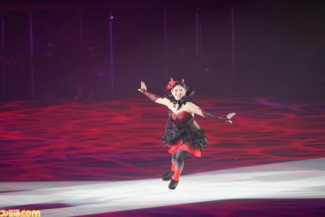 Eiskunstlauf Tiefseeprinzessin durch Midori Ito