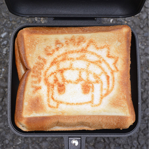 Yuru Camp Anime Sandwich Toastie Maker