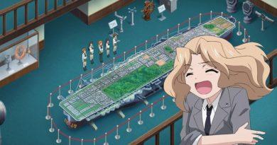 Was hat es mit den Schiffen aus Girls und Panzer auf sich?